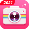 كاميرا تجميل مجانية للصور الشخصية - محرر  والكولاج أيقونة