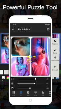 Editor de fotos gratuito - Beauty Selfie Camera captura de pantalla 5