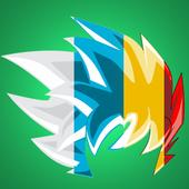 SelfComic - Dragon Warrior Z Cosplay Photo Editor icon