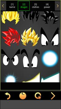 SelfComic - Dragon Warrior Z Cosplay Photo Editor screenshot 13