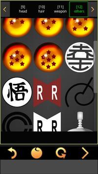 SelfComic - Dragon Warrior Z Cosplay Photo Editor screenshot 7