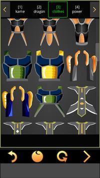 SelfComic - Dragon Warrior Z Cosplay Photo Editor screenshot 4
