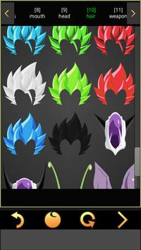 SelfComic - Dragon Warrior Z Cosplay Photo Editor screenshot 5