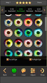 FoxEyes - Change Eye Color screenshot 13