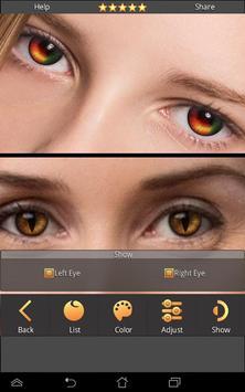FoxEyes - Change Eye Color screenshot 1