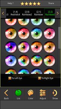 FoxEyes - Change Eye Color screenshot 7