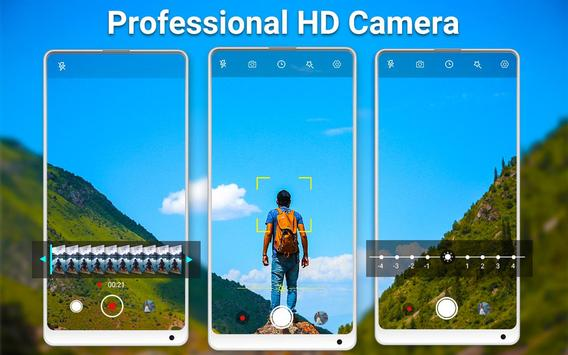 HD Camera Pro & Selfie Camera poster