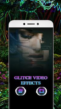 Glitch Video Effects Recorder-HD Live Movie Maker poster