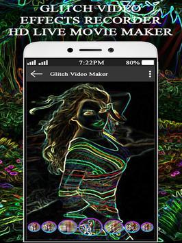 Glitch Video Effects Recorder-HD Live Movie Maker screenshot 9
