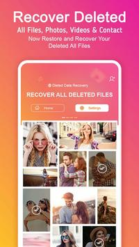 Recover Deleted All Photos, Files and Contacts screenshot 1