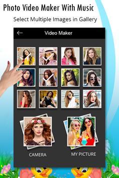 Photo Video Maker With Music - Slideshow Maker screenshot 1