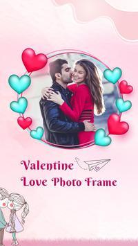 Valentine Day Photo Frame poster
