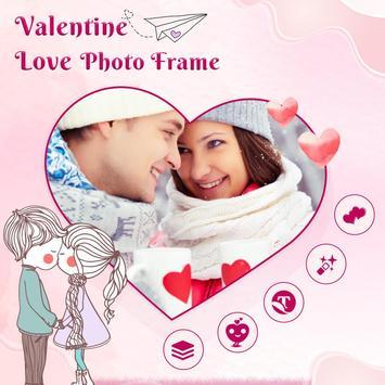 Valentine Day Photo Frame screenshot 1