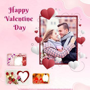 Valentine Day Photo Frame screenshot 2