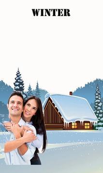 Happy Winter New Photo Frames  Editor App poster