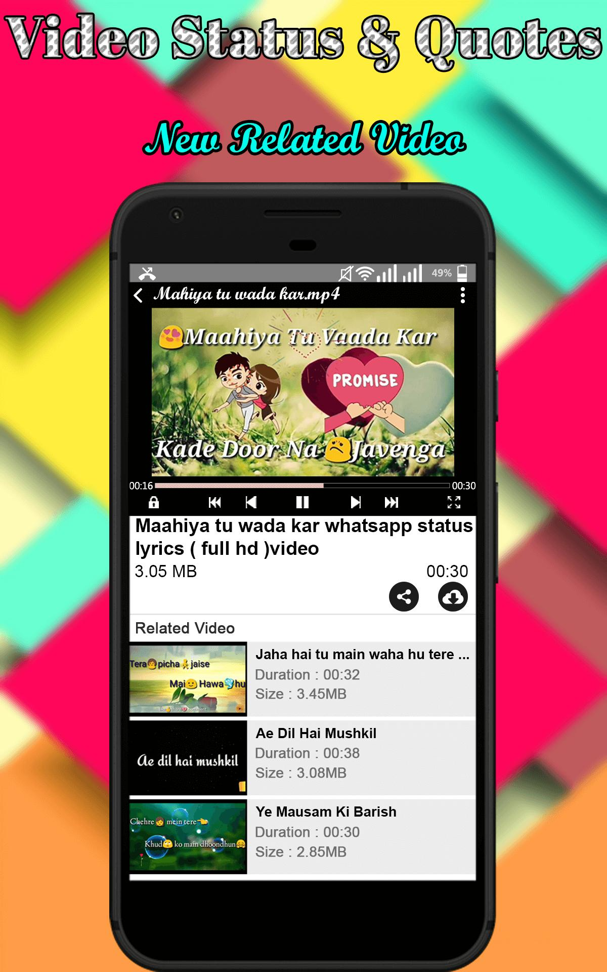 Wastatus For Whatsapp Video Status For Android Apk Download