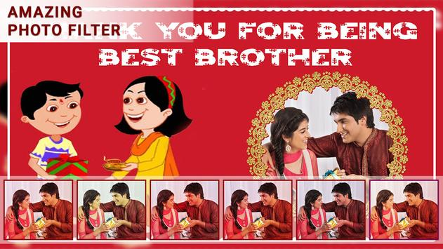 Bhai Dooj Photo Frame screenshot 2