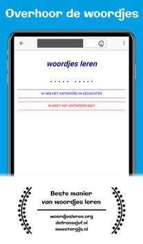 Makkelijk woordjes leren: Wozzol 截图 13