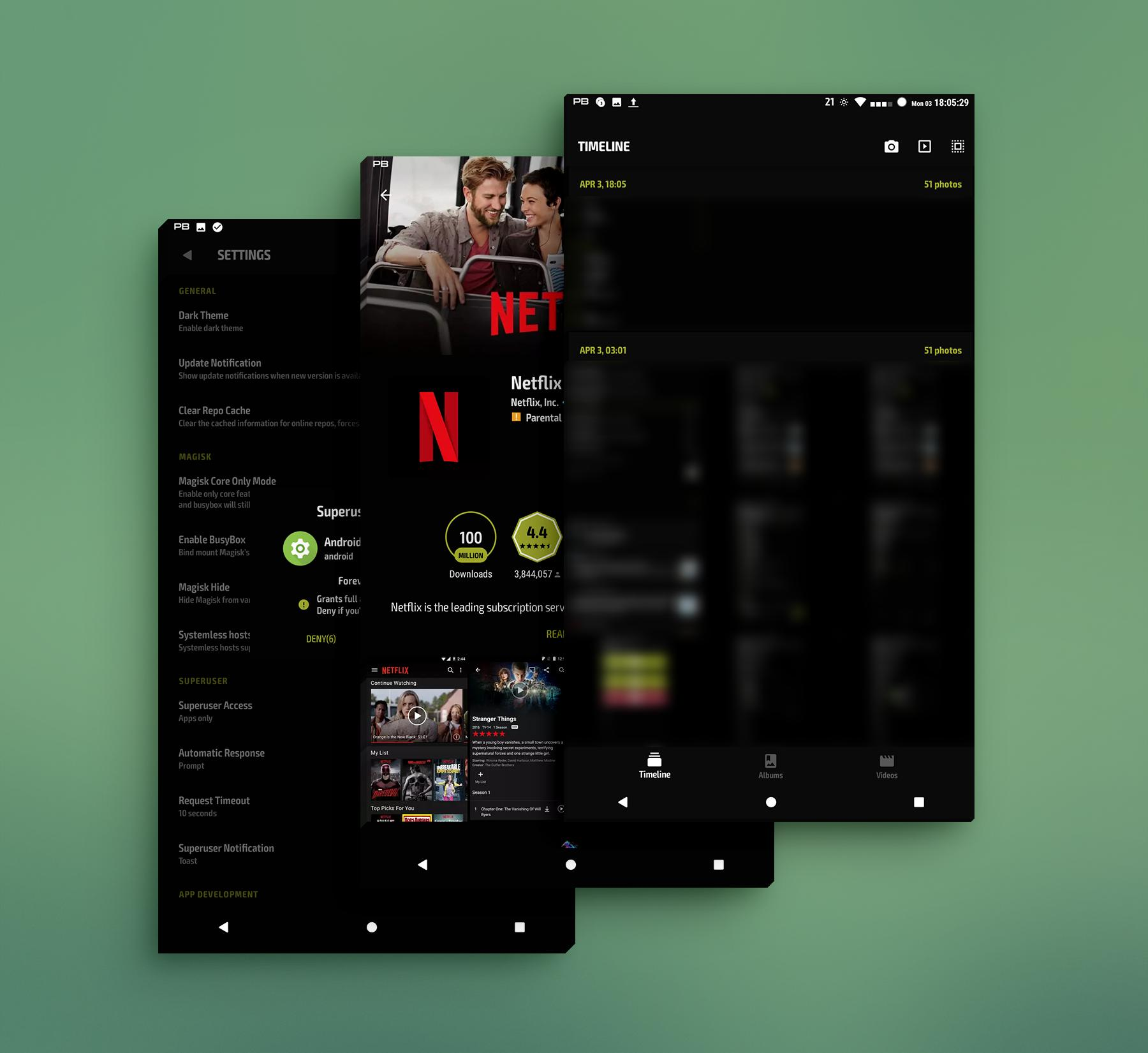 PitchBlack - Substratum Theme For Nougat/Oreo/Pie for Android - APK Download