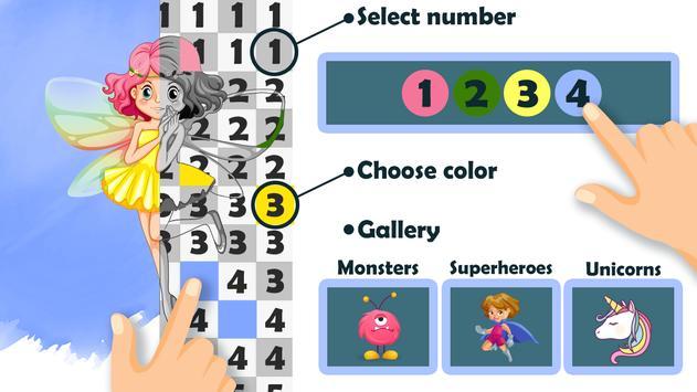 Pixel Art Maker - Number Coloring Pages screenshot 5