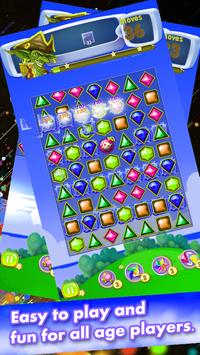 Diamond Jewels Quest Match 3 screenshot 3