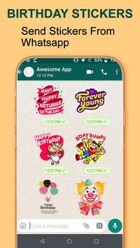 Birthday WA-Sticker App screenshot 2