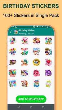 Birthday WA-Sticker App screenshot 3