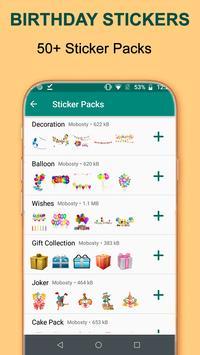 Birthday WA-Sticker App screenshot 4