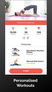 30 Day Pilates Challenge تصوير الشاشة 3