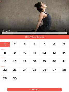 30 Day Pilates Challenge تصوير الشاشة 14