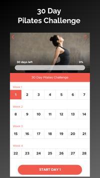 30 Day Pilates Challenge تصوير الشاشة 4