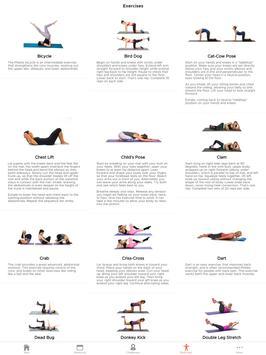 30 Day Pilates Challenge تصوير الشاشة 8
