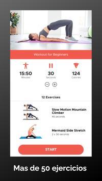 Pilates en tu casa: Ejercicios para principiantes captura de pantalla 1