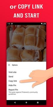 Video Downloader for Pinterest - GIF & Story saver screenshot 17