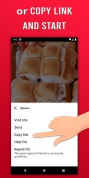 Video Downloader for Pinterest - GIF & Story saver screenshot 1