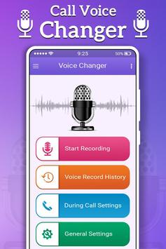 Call Voice Changer poster