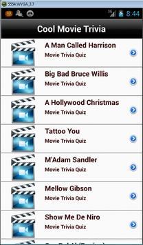 Cool Movie Trivia screenshot 1