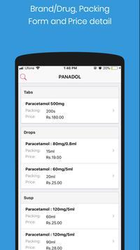 Pinmed - Free Medicine Database screenshot 1