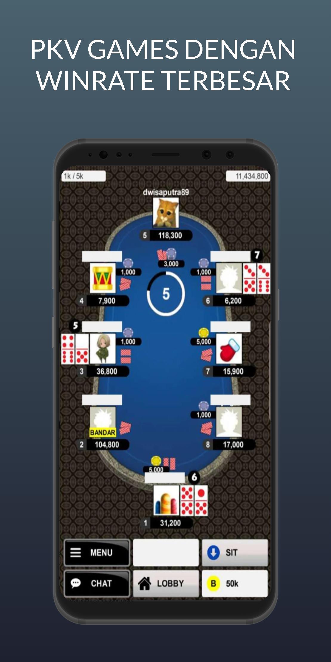 Bandarq Dominoq Poker Pkv Games For Android Apk Download