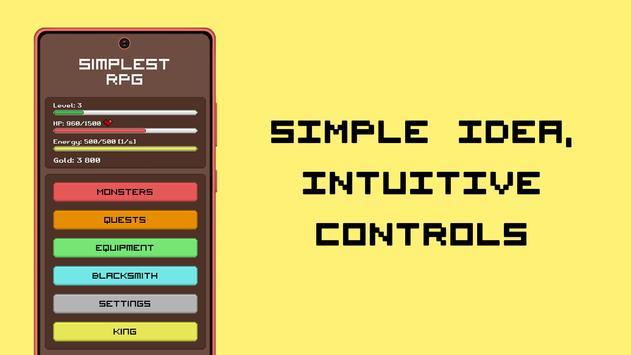 Simplest RPG Game captura de pantalla 10