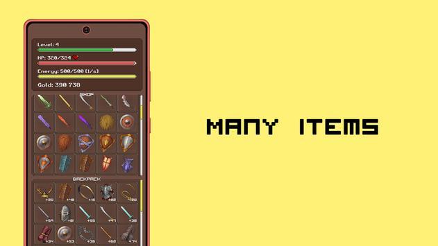 Simplest RPG Game captura de pantalla 1
