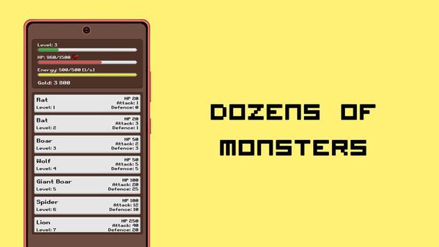 Simplest RPG Game captura de pantalla 2