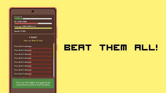 Simplest RPG Game captura de pantalla 3
