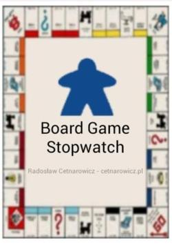 Board Game Stopwatch poster