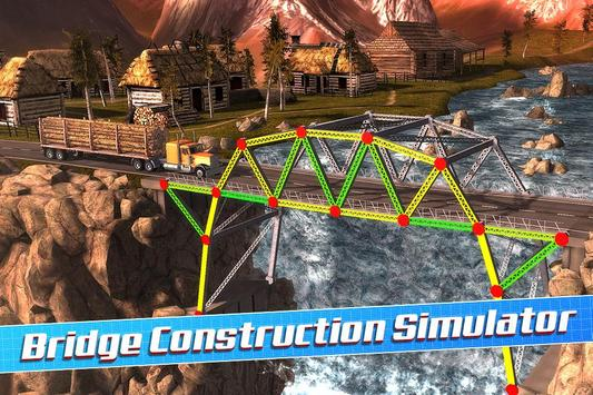 Bridge Construction Simulator पोस्टर
