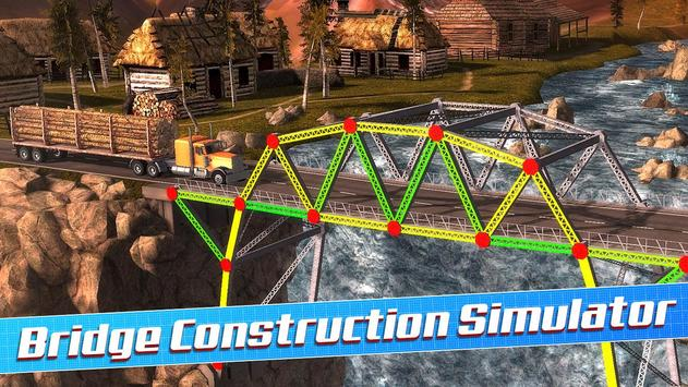 Bridge Construction Simulator स्क्रीनशॉट 12