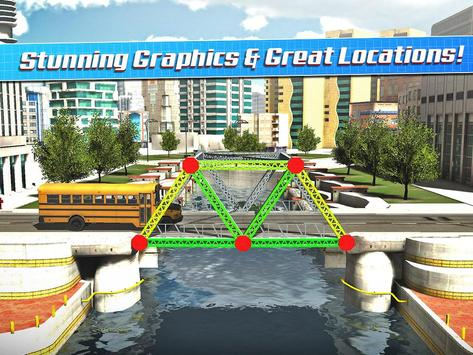 Bridge Construction Simulator स्क्रीनशॉट 8
