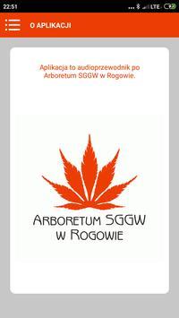 Arboretum w Rogowie Audioprzewodnik screenshot 2