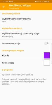 Word Memo Widget screenshot 4