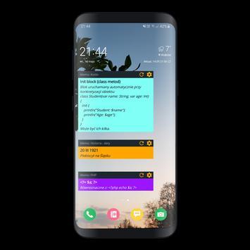 Word Memo Widget screenshot 1